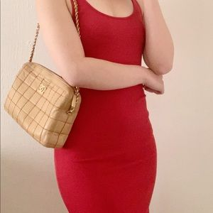 Forever21 red knit dress